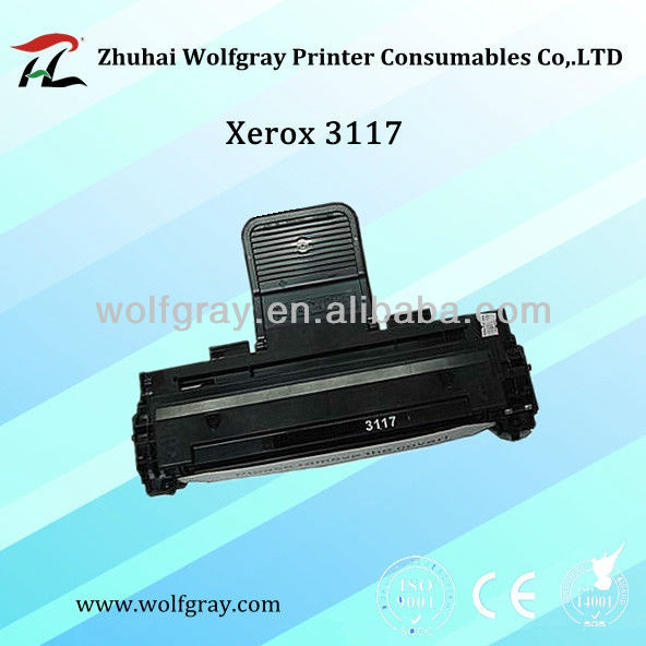 New toner cartridge for Xerox 3117