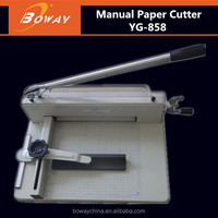 Boway service 858 A3 A4 manual hand operated paper cutting machine