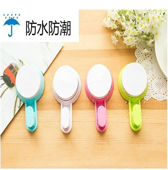 J322 Hot Selling DIY Cartoon Bathroom Plastic Wall Hook, Strong Suction Cup Hook