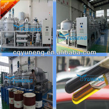 Mobile Used Black Engine Oil Purification Plant/Oil Recycle Machine