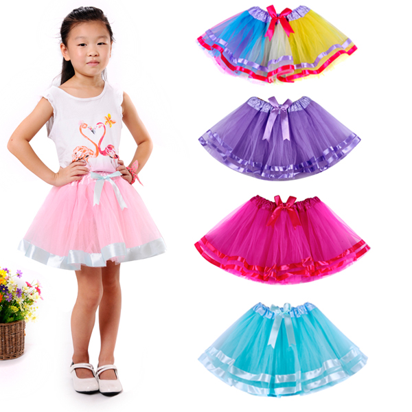New Arrival Sweet Rainbow Tutu