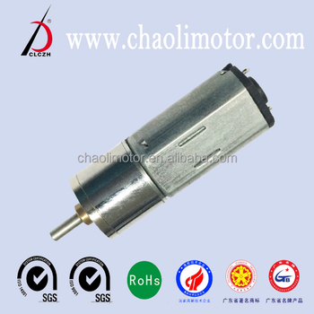 micro N20 and N30 spur geared motor with high efficiency and metal seal structure for robots ,gearbox and household appliances