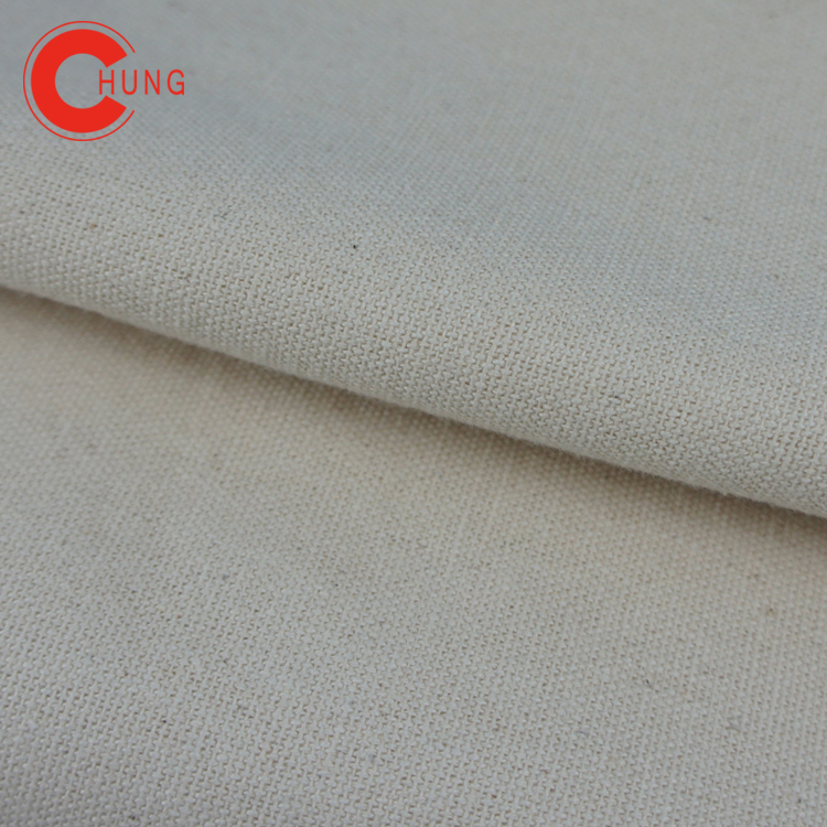 A010-3 Eco fabric 2/1 twill 6 ounce canvas 100% Cotton with best after-sale service