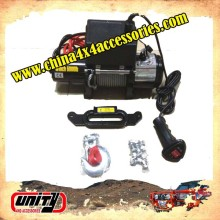 4wd accessories 12000lb CE approved Car Electric Winch with wireless remote control