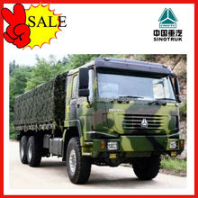 HOT SALE HOWO 6x6 Cargo Truck Chassis For Sale