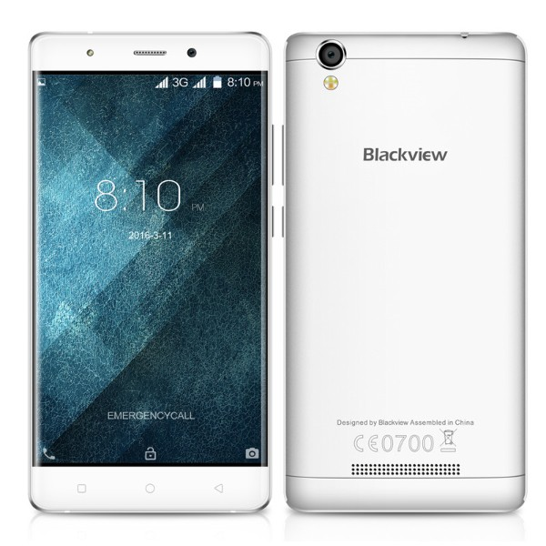 Blackview A8 5.0 Inch HD Smart Phone Android 5.1 MTK6580A Quad core 1.3GHz 1G RAM 8G ROM 8.0MP 2000mAh 1280*720 IPS Mobile Phone