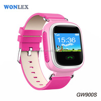 Wonlex Color Screen GPS Kids Tracking Devices Child Locate Mobile Phone with Smartwatch Android App