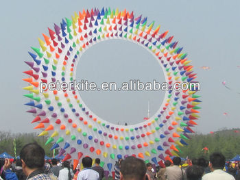 10m ring kite with spikies
