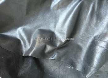 Pig glazed leather,oil glazed pig split leather, waxing pig split leather