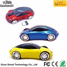 WM-05 Plug and Play Promotional Gift Mini 3D 2.4g Driver Wireless USB Optical Mouse Racing Car Wireless Mouse