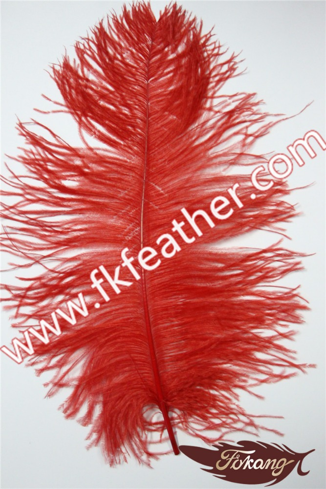 Dyed ostrich feather large red craft ostrich feather cheap for Where to buy craft feathers