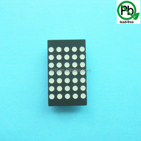 Red/Blue/Green/White LED Dot Matrix 5x7 Dot Matrix LED Display