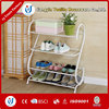S-type plastic shoe rack with cover
