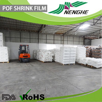 Plastic film sealer POF shrink film food packaging bag