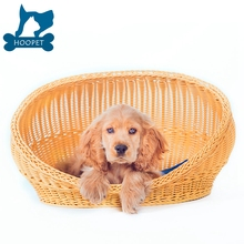 High quality Indoor New Design Rattan bed dog