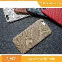Luxury slim pc+pu leather back cover phone case for apple iphone 5 5s