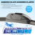 warranty soft windshield wiper with high quality silicone wiper