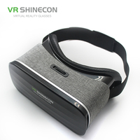 2017 new VR SHINECON Virtual Reality VR Goggles 3D Glasses VR Headset for SMARTPHONES