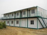 Iraq, Dubai, Prefabricated house/ sandwich panel house low price