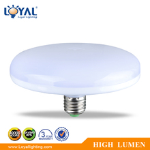 High lumen IP20 indoor new 12v-240w LED ufo bulb lamp pastic smd 15w 18w 20w 24w 36w e27 led ufo bulb light