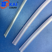 Flexible durable transparent pipes soft PVC sleeves for medical grade tubing