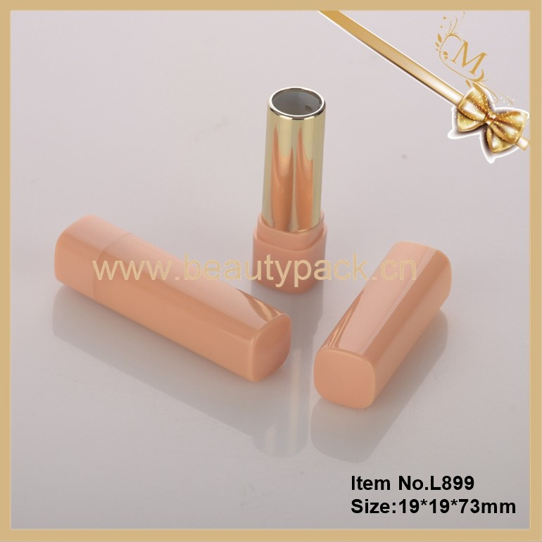 Cheap price empty plastic lip stick cosmetic tubes packaging