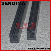 self lubricating plastic material linear guide rail