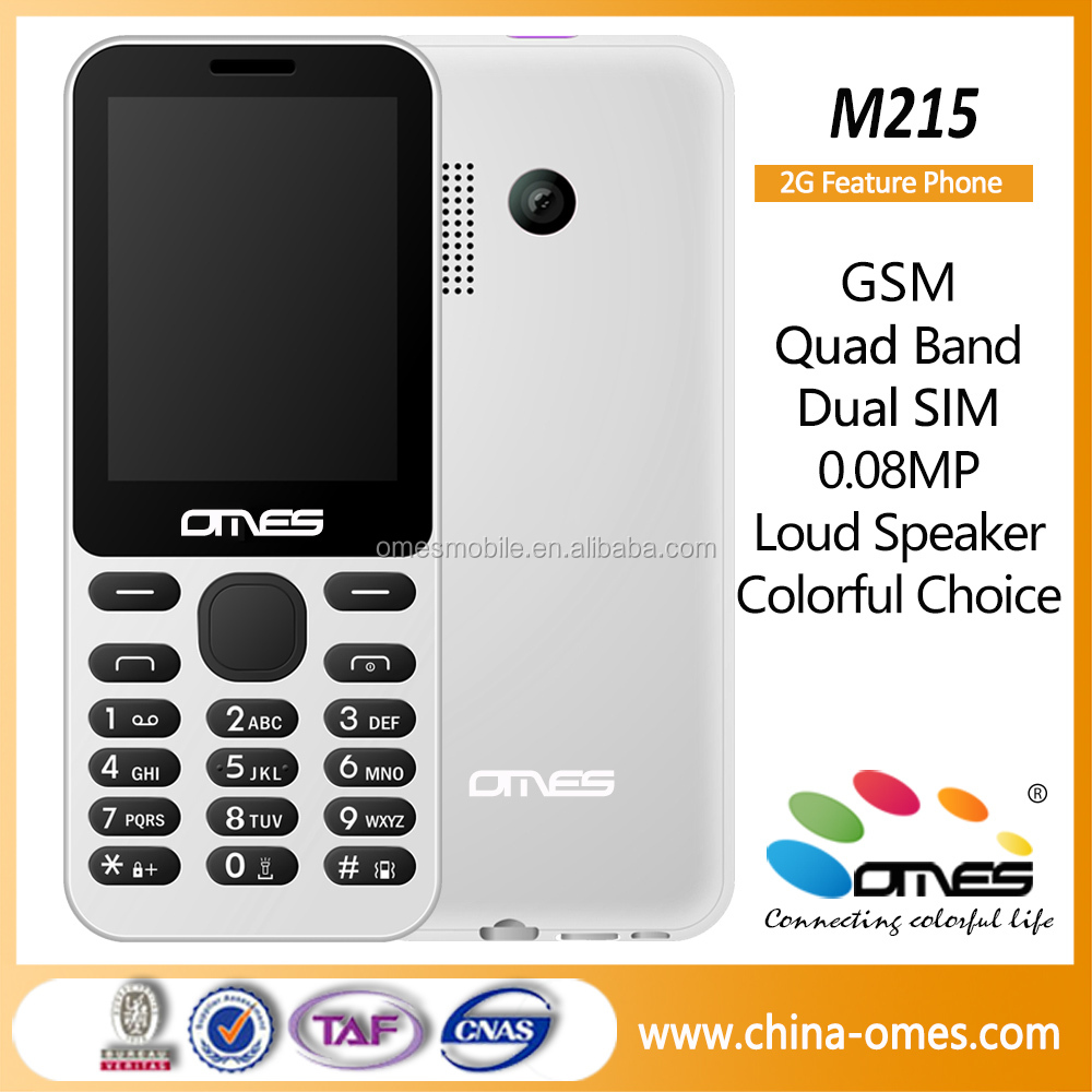 2.4 inch 2G GSM bar phone, all china mobile phone models latest china handphone