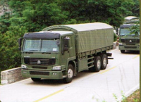 SINOTRUK HOWO Military Cargo Truck 6X4 For Sale