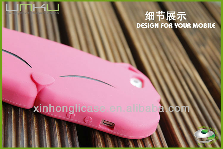 3d sublimation case for iphone 5,animal silicone case,mobile phone shell