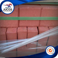 Red clay paving brick, square pavers for construction, pavers