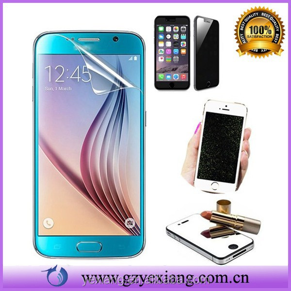 Wholesale High Clear/Matte/Mirror Screen Protector For Samsung Galaxy S6