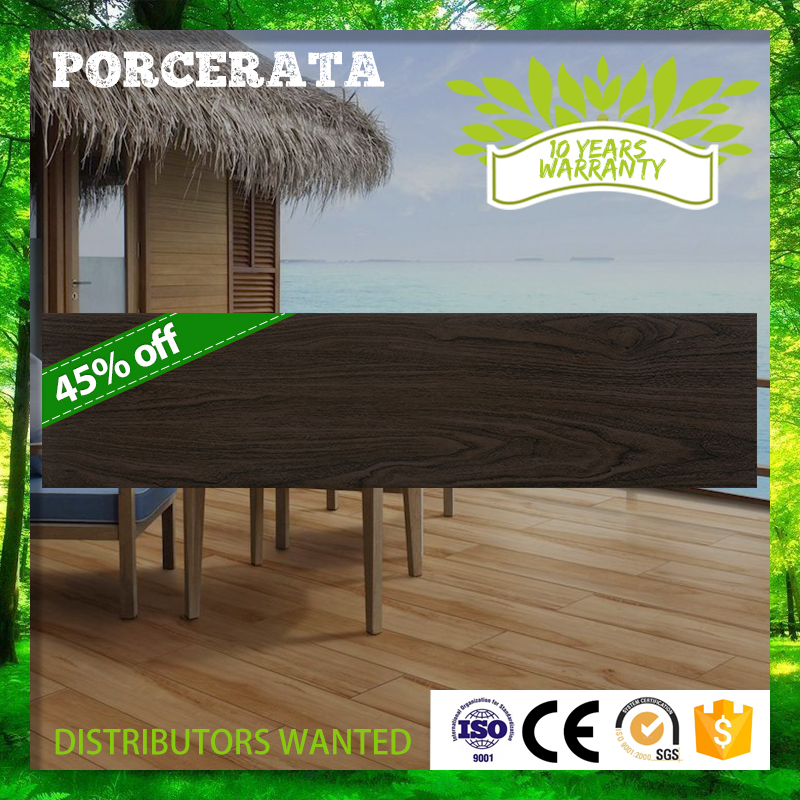 Factory Direct supply 150x600mm JFA5679 acacia wood deck porcelain ceramics floor tiles with long life