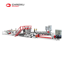 ABS two lines Plastic Sheet Extruder Machine