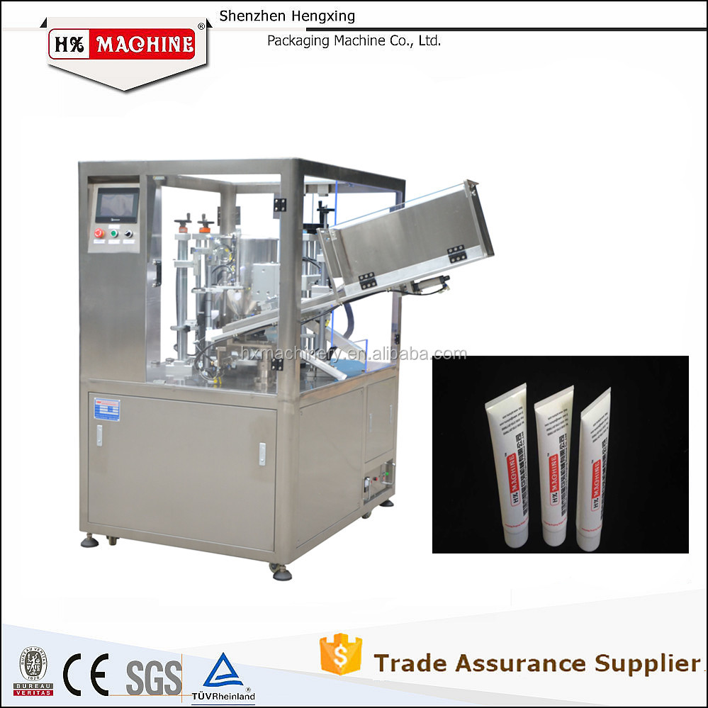 Fully Auto Tube Grease Filling Sealing Machine