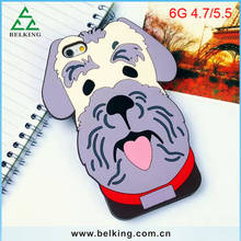 For iPhone 6 Happy Dog Silicone Cover Case/ Vivid Phone Case For iPhone 6s / For iPhone 6s Plus Soft Case