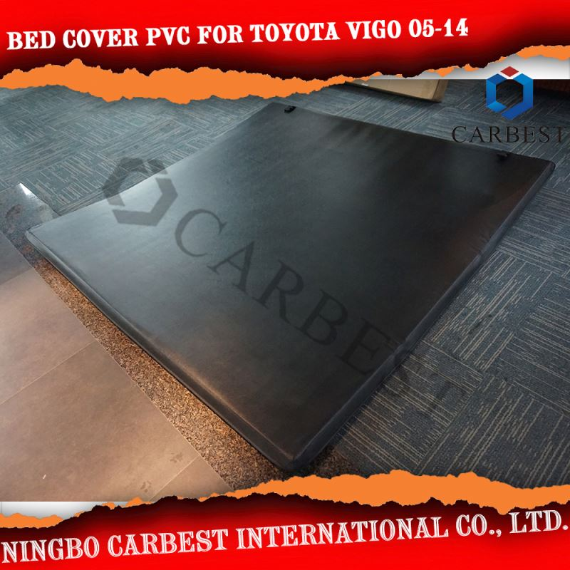 High Quality PVC pickup 3d bed cover set for TOYOTA Vigo Single Cab 7.8' Bed 2005-2014