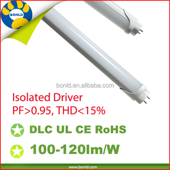 5 years warranty UL,DLC 4ft 1200mm 120cm 12w 18w 20w led light tube