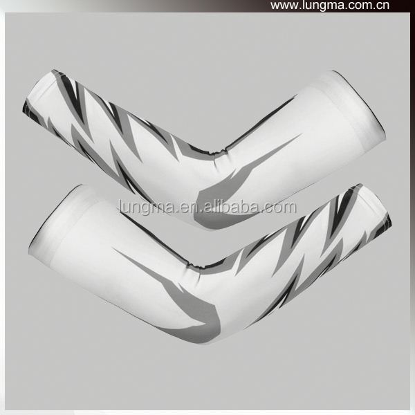 Fingerless Arm Covers Elbow Compression Arm Sleeve Guard
