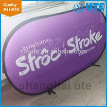 popular tension fabric pop up banner light for shopping mall