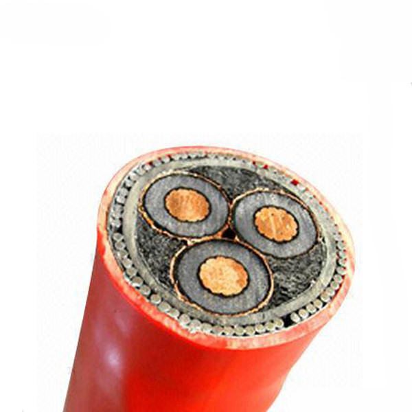 24kv XLPE Cable MV SWA Power cable 3*120 armored copper cable