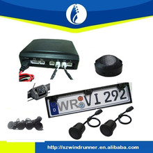2015 Car license plate frame rearview camera with parking sensor