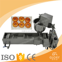 Zhengzhou Glory automatic stainless steel electrical gas donut fryer/donut frying machines