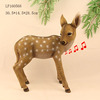 Resin motion sensor Sika deer figurines crafts