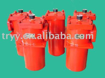Low Pressure hydraulic press oil fuction of cartridge filter strainers