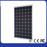 Best supplier cheap price per watt monocrystalline silicon solar panel
