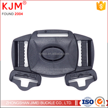 Customized Sizes 1'' +3/4'' Strong Black Plastic Side Release Buckles