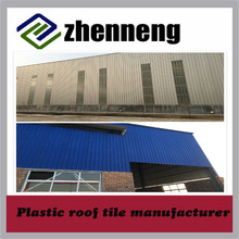 Customized plastic roofing shingles/tile/sheet