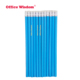Manufacturers customize all kinds of blue pencil 2B HB wood pencil with eraser