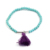 New Fashion Design Amethyst Crystal Stone Beaded Bracelets For Jewelry Making